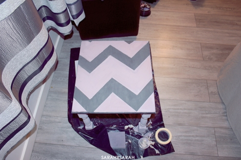Painted Chevrons