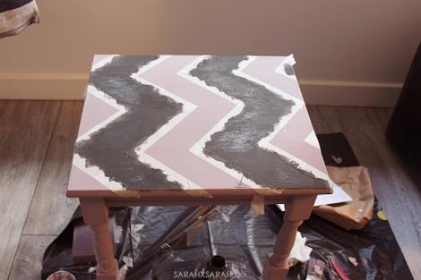 Painting Chevrons