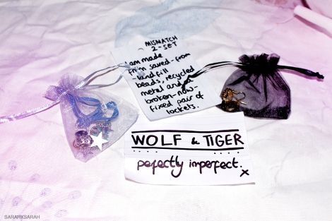 wolf and tiger